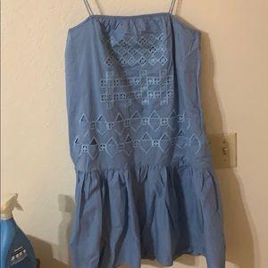 NWT Tibi blue dress size 4